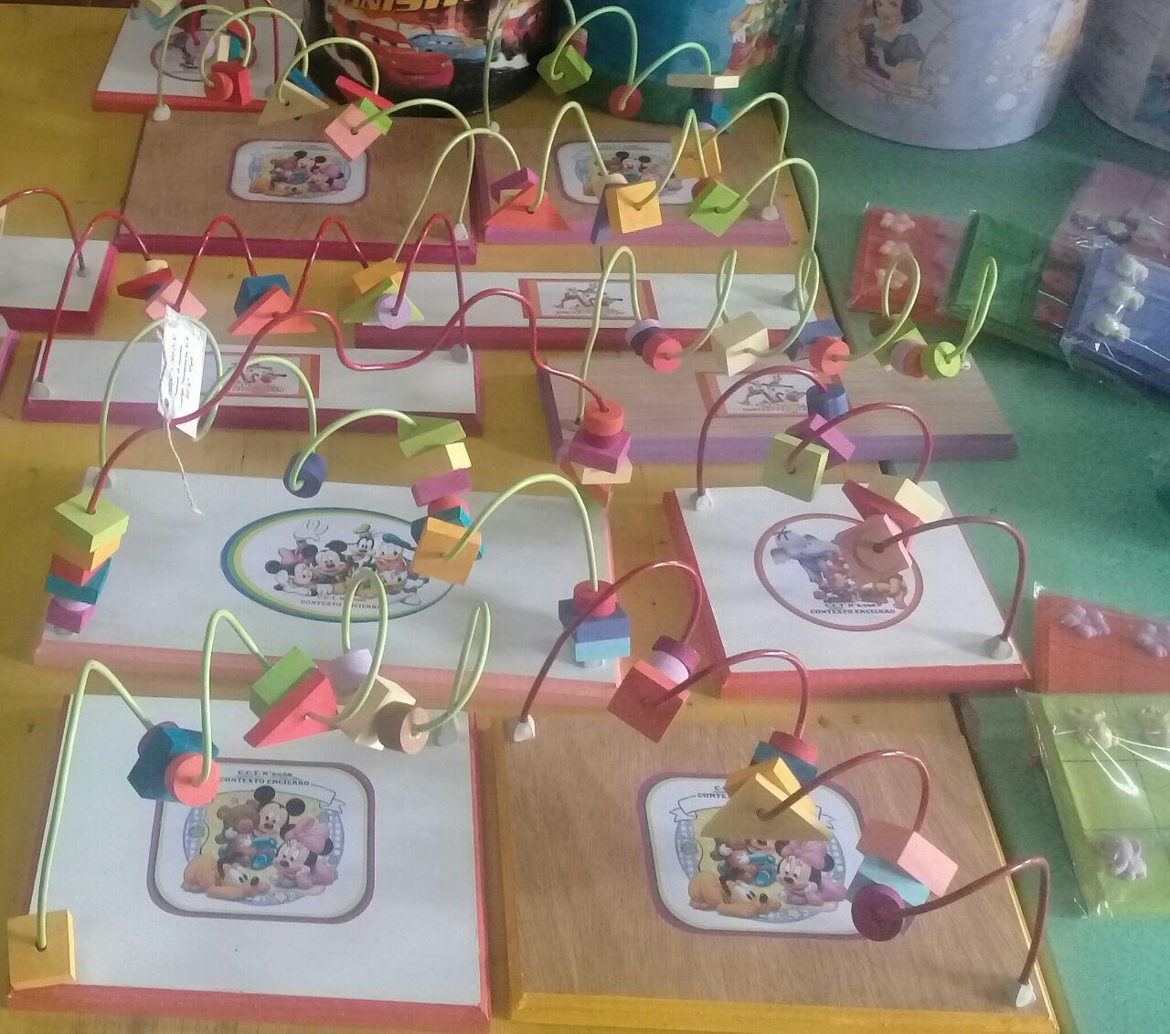Presos y presas fabricaron juguetes didácticos para jardines ...