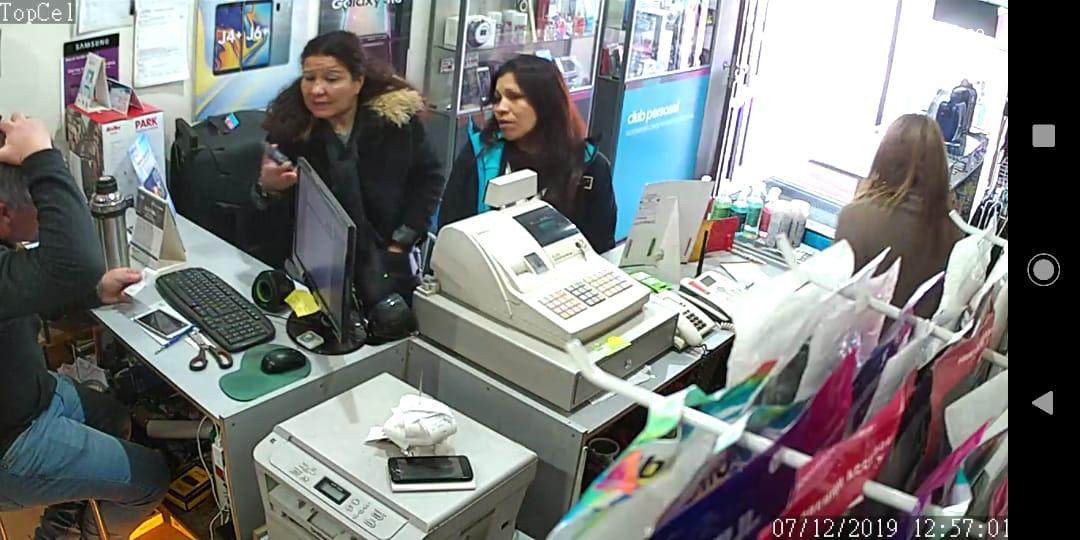 Afanaron una billetera en Galver, compraron celulares con una de las tarjetas robadas y terminaron detenidas