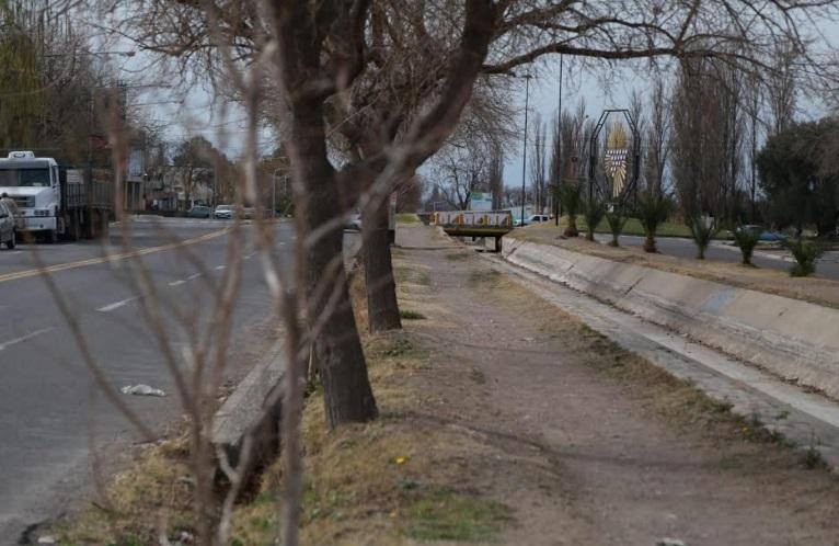 Construirán un nuevo paseo en Av. Dean Funes, entre la rotonda y Av. Sarmiento