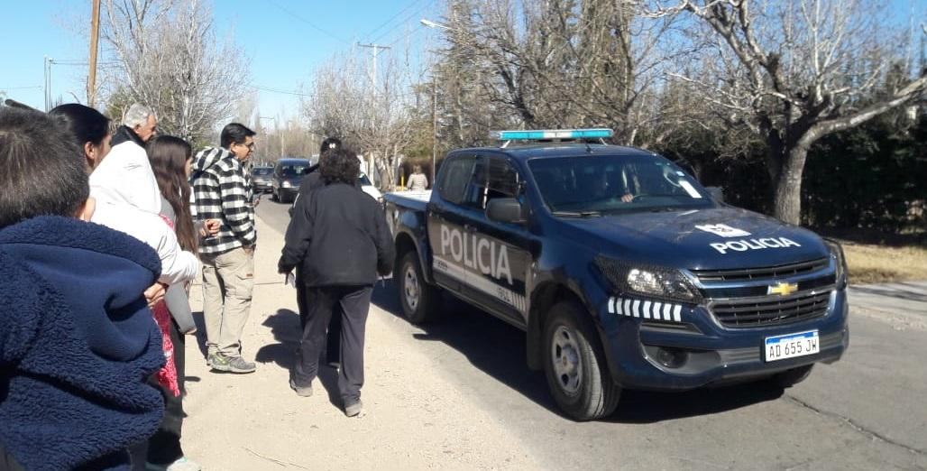 Vecinos de El Cerrito se manifestaron contra la inseguridad en el distrito