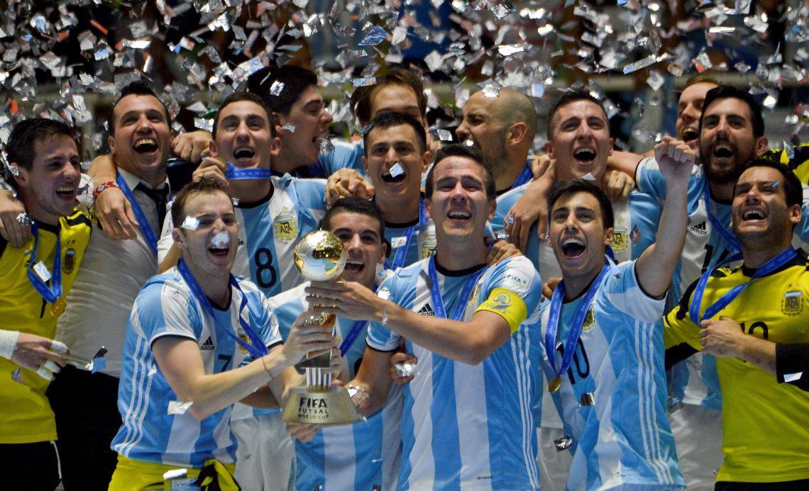 El Poli de Villa Atuel se inaugurará con un partido de la selección argentina de Futsal