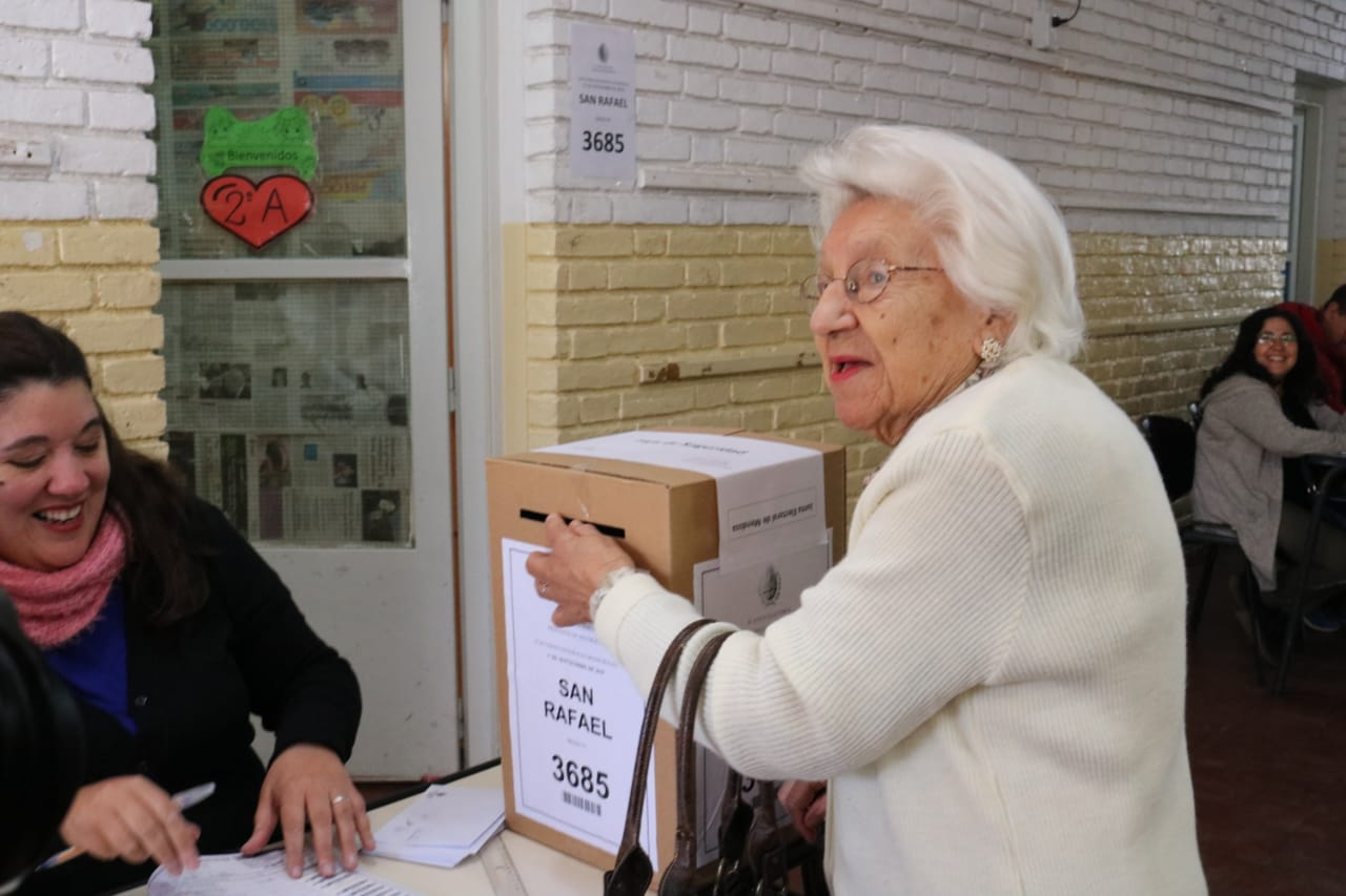 Fue a votar con 101 años