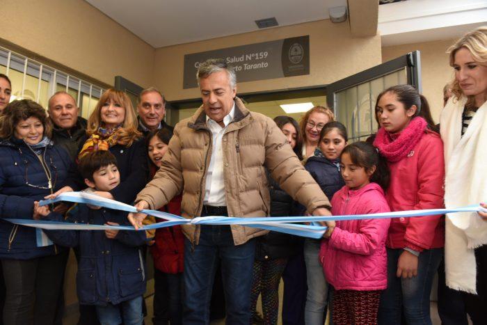 Cornejo inauguró el nuevo Centro de Salud de la Isla con una inversión de $26 millones
