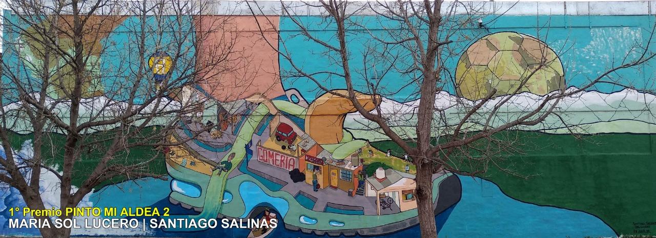 Los seis murales ganadores