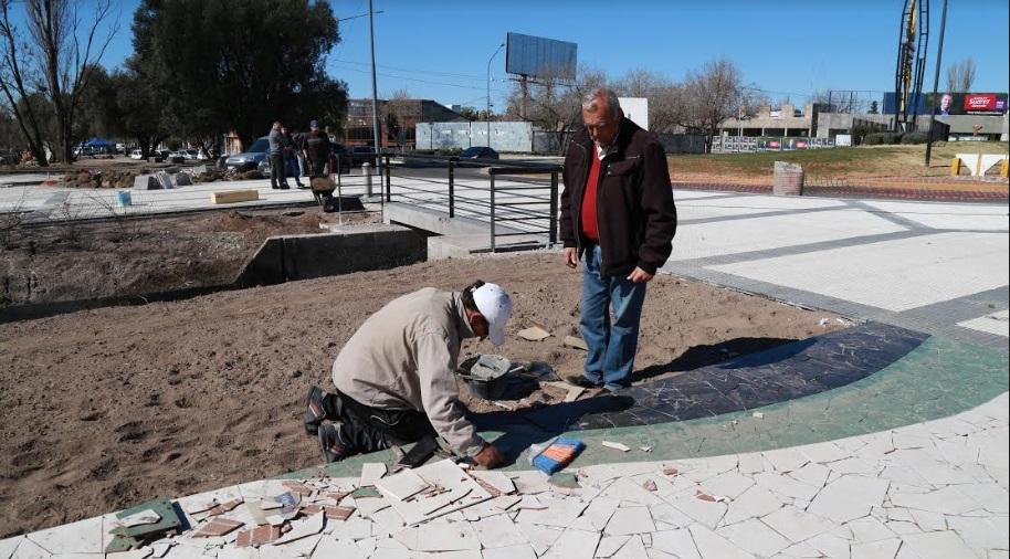 Tras las elecciones, no se detiene el plan de obra pública municipal