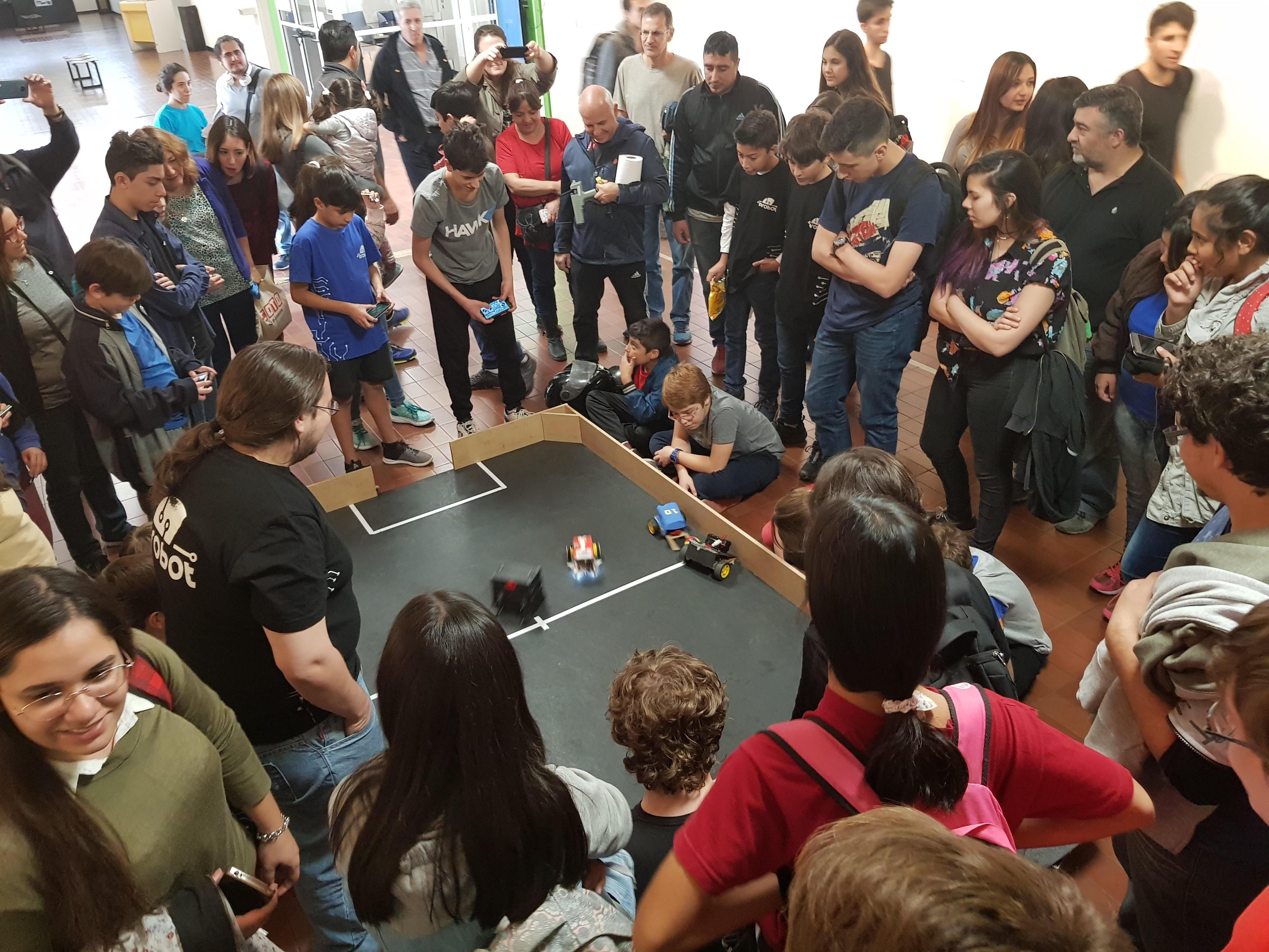 Llegan a San Rafael los cursos de robótica y videojuegos pioneros en el país