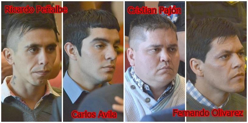 Cadena perpetua para los cuatro acusados de matar al matrimonio Scalia