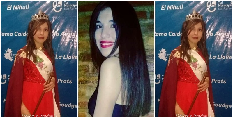 Las Malvinas coronó a Mara Contreras