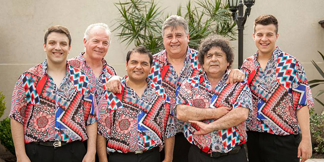 Nos visitan Los Palmeras, Agarrate Catalina, Lerner, Cacho Garay y Claudio María Dominguez