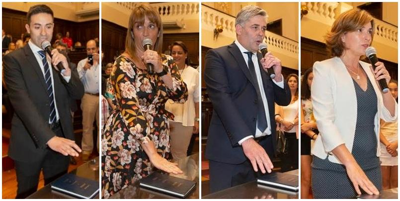 Juraron los cuatro diputados sanrafaelinos elegidos este año