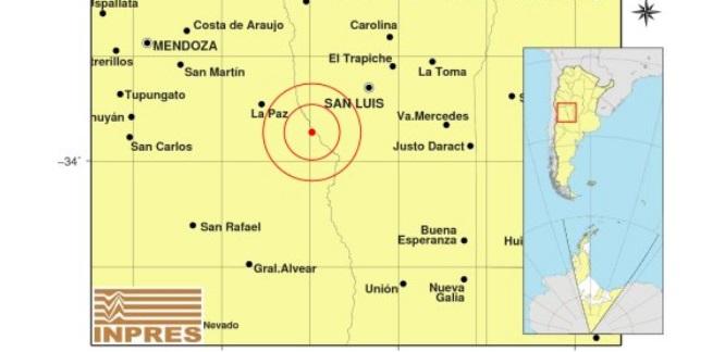 El temblor que sacudió San Rafael fue noticia nacional