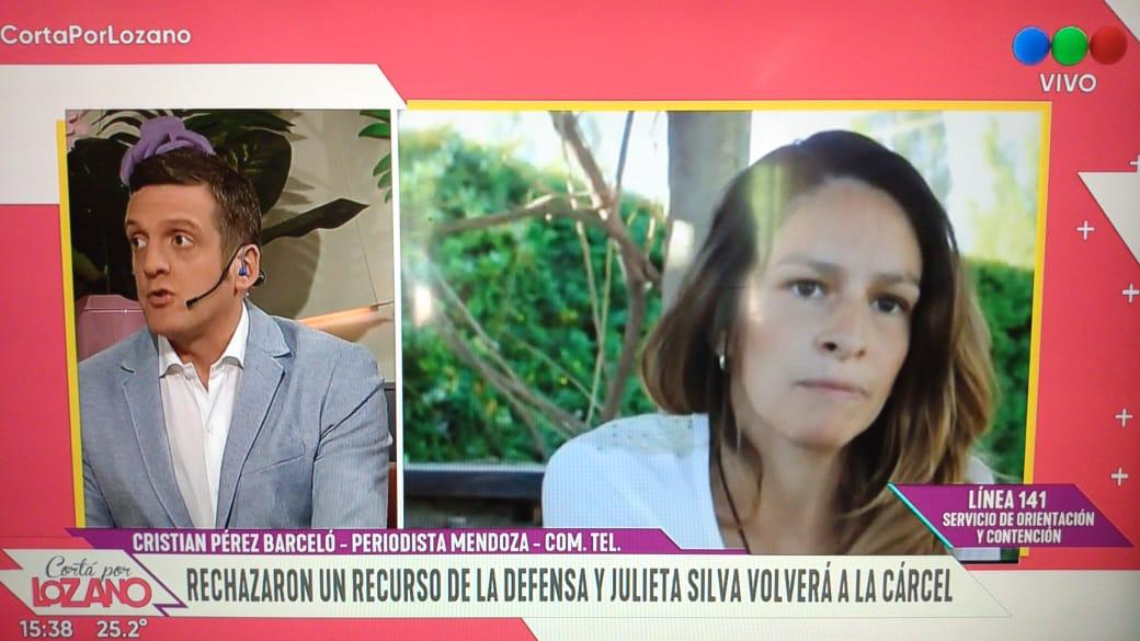 Hoy Julieta Silva vuelve a prisión