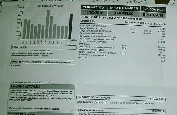 Los senadores Reche y Quesada gestionan una baja en la tarifa eléctrica para San Rafael