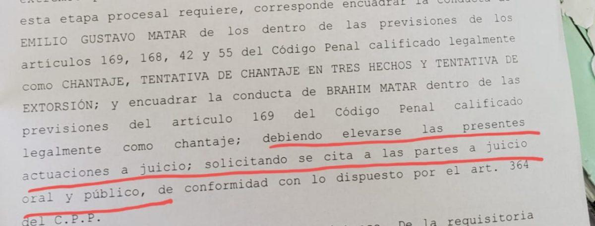Gustavo Matar va a juicio por extorsionar a empresarios de la noche y a otras personas