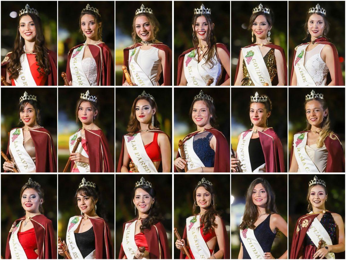 Vendimia 2020: Una de estas chicas será la próxima Reina Departamental