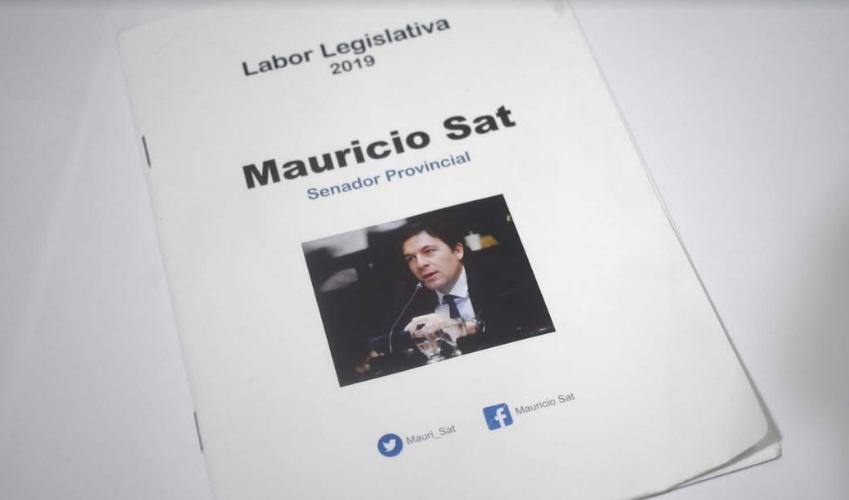 Mauricio Sat presentó la rendición de su Labor Legislativa 2019