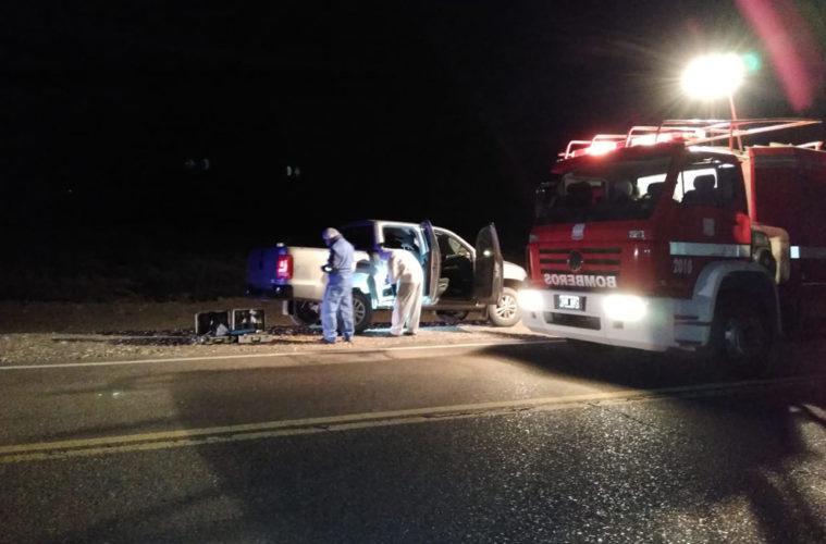 Buscan en El Sosneado a dos hombres que mataron a un fletero y le robaron la camioneta