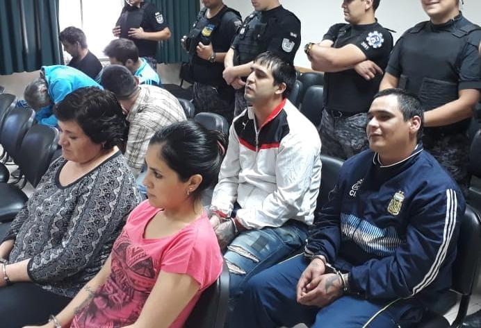 Condenan a 9 miembros de una banda narco de San Rafael