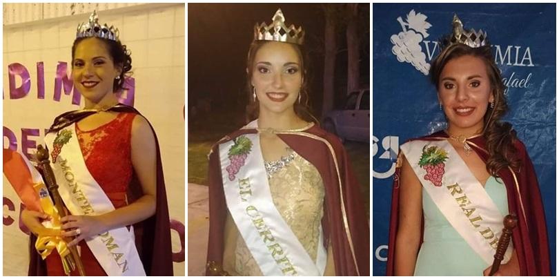 Tenemos tres nuevas Reinas de la Vendimia