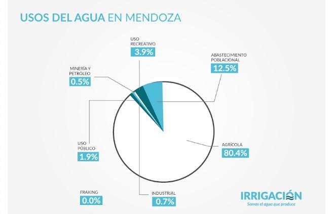 Informe especial «Sequía 2020»: Así se gasta la poca agua que hoy se genera en Mendoza