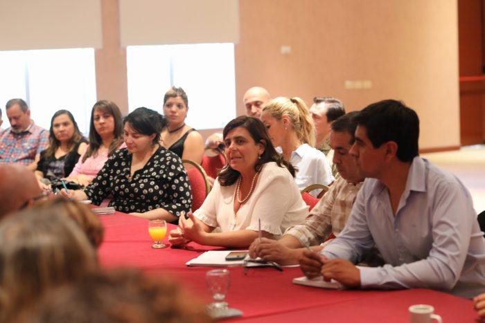 Suárez le pidió a sus ministros que tengan una activa presencia en San Rafael: Ayer fue el turno de Mariana Jury