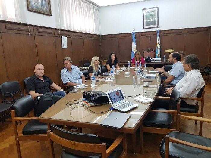 El Director General de Escuelas visitó por primera vez el Sur y se reunió con intendentes