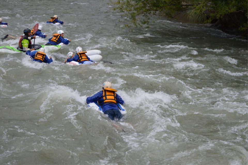 Una turista murió mientras practicaba cool river