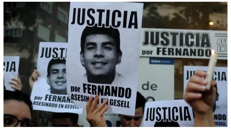 Convocatoria para pedir justicia por Fernando